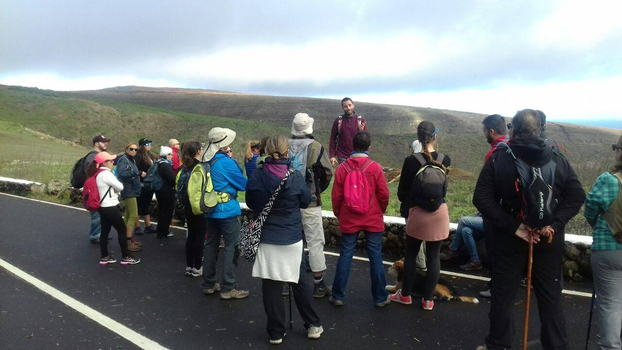 Geoloruta: cinco horas por la Quemada de Órzola