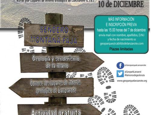 Geoloruta vuelve en diciembre para recorrer Montaña Faja en el municipio de Haría