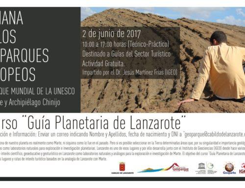 """Curso : """"Guía Planetaria de Lanzarote"""""""