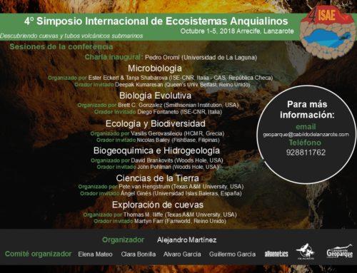 4º Simposio Internacional de Ecosistemas Anquialinos