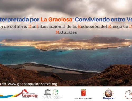 """Ruta interpretada por La Graciosa: """"CONVIVIENDO ENTRE VOLCANES"""""""