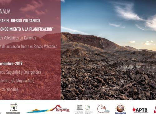 Jornada Mitigar el Riesgo Volcánico: del Conocimiento a la Planificación